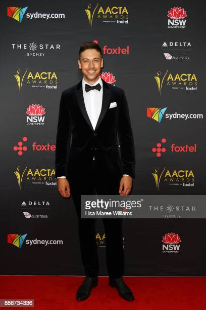 Lincoln Younes attends the 7th AACTA Awards Presented by Foxtel | Ceremony at The Star on December 6 2017 in Sydney Australia