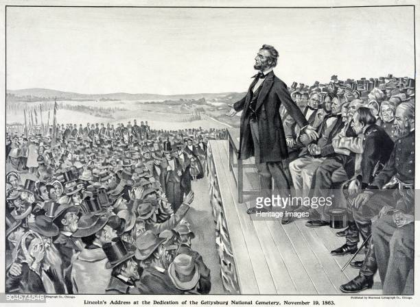 Lincoln's Address at the dedication of the Gettysburg National Cemetery November 19th 1863 pub 1905