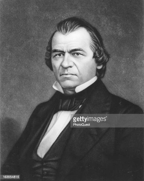 Lincoln's successor President Andrew Johnson of Tennessee.