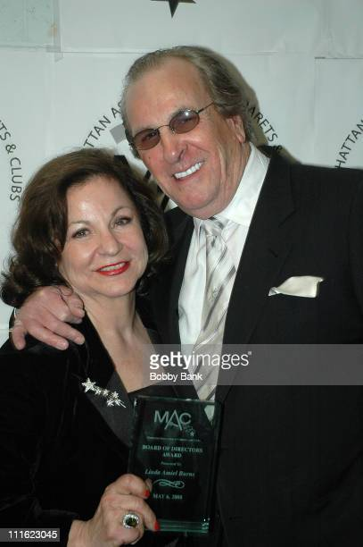Linda Amiel Burns and Danny Aiello appear at the 22nd Annual MAC Awards at BB King Blues Club in Times Square on May 6 2008 in New York City