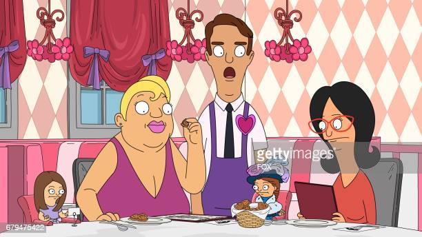 BOB'S BURGERS Linda and the girls go out for dinner at a wacky restaurant in the Zero Larp Thirty/The Laserinth'' onehour episode of BOBS BURGERS...