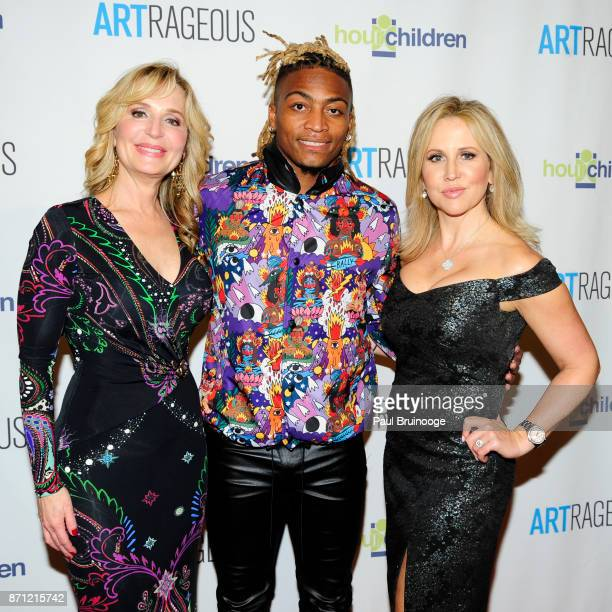 Linda Argila Buster Skrine and Kirstin Cole attend the Event Name ARTrageous Gala Dinner Art Auction Celebrating Hour Children 30th Anniversary at...