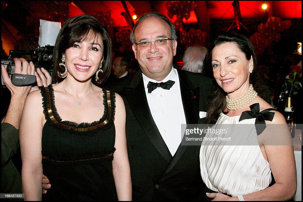 La Nuit Des Neiges Charity Gala Dinner In Aid Of Sepp Blatter Football And Humanity Foundation : News Photo