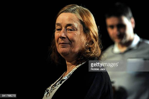 Linda Bassett as Doreen and Lee Ross as Barry in David Eldridge's In Basildon directed by Dominic Cooke at the Royal Court in London
