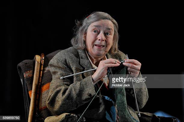 Linda Bassett as Iris in Alan Bennett's People directed by Nicholas Hytner at the National Theatre in London