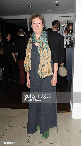 Linda Bassett attends an after party following the press night performance of the Donmar's Roots at The Hospital Club on October 8 2013 in London...