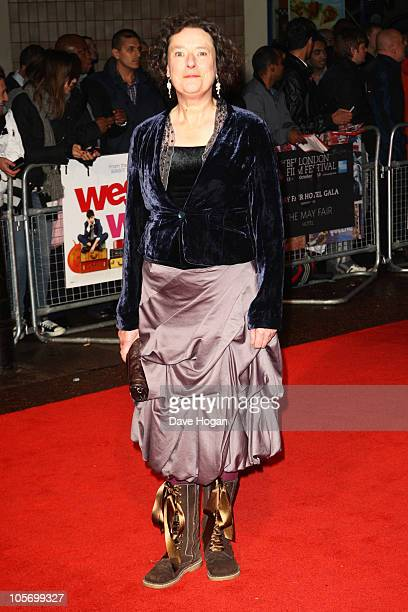 Linda Bassett attends the premiere of West Is West at the 54th BFI London Film Festival held at The Vue Leicester Square on October 19 2010 in London...