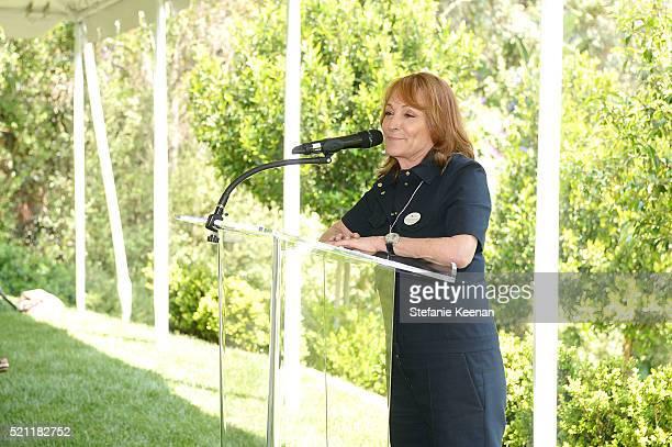 Linda Bernstein Rubin attends Annual HEART Brunch Featuring Stella McCartney on April 14 2016 in Los Angeles California