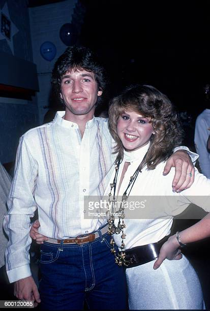 Linda Blair and costar Jim Bray attends the Promotional Party for Roller Boogie circa 1979 in New York City