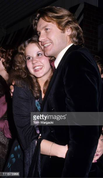 Linda Blair and Helmut Berger during Linda Blair and Helmut Berger Sighting in Beverly Hills November 14 1976 at Beverly Hills in Los Angeles United...