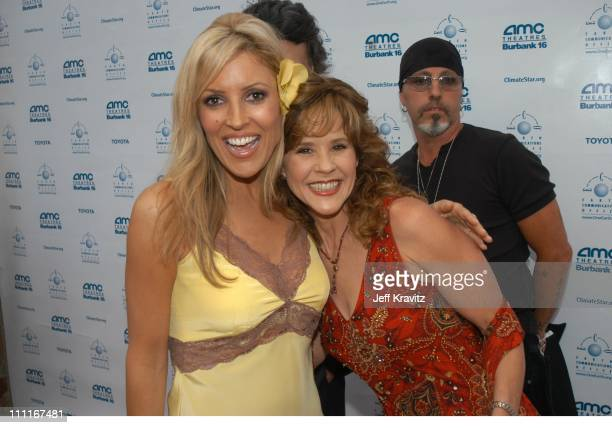 Linda Blair and Jillian Barberie during Kevin Bacon Film Tribute and Block Party Benefitting the Earth Communications Office and the Boys Girls Club...