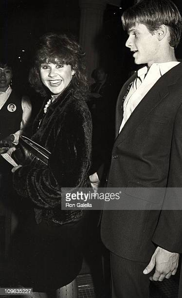 Linda Blair and Mark Hudson during Opening Night of Marcel Marceau the Marceau Company at Beverly Wilshire Hotel in Beverly Hills California United...