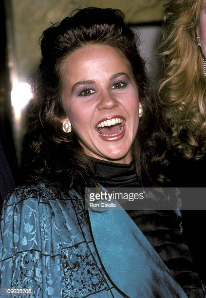 Linda Blair during Cocktail Party to Benefit The American Horsemen's Assocation at Cartier's Jewerly Store in New York City New York United States