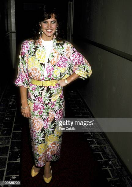 Linda Blair during Connie Stevens Third Annual Celebrity Fashion Show to Benefit Windfeather at Ambassador Hote in Los Angeles California United...