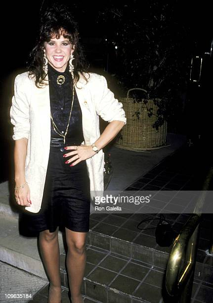 Linda Blair during Linda Blair Sighting at Nicky Blair's Restaurant in Hollywood June 4 1986 at Nicky Blair's Restaurant in Hollywood California...