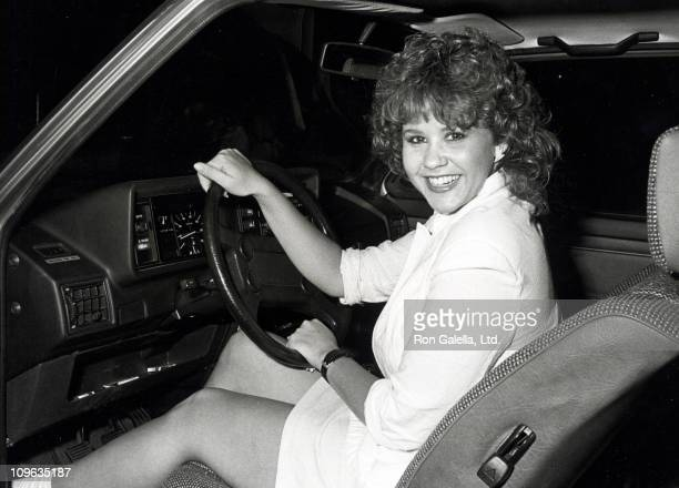 Linda Blair during Linda Blair Sighting at Spago Restaurant in West Hollywood California August 11 1983 at Spago Restaurant in West Hollywood...