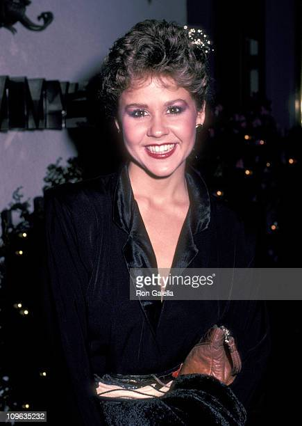 Linda Blair during Party for ZupnikCurtis Enterprises at Jimmy's Restaurant in Beverly Hills California United States