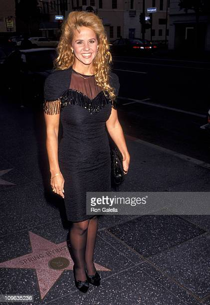 Linda Blair during Performance of Grand Hotel June 8 1991 at Pantages Theatre in Hollywood California United States