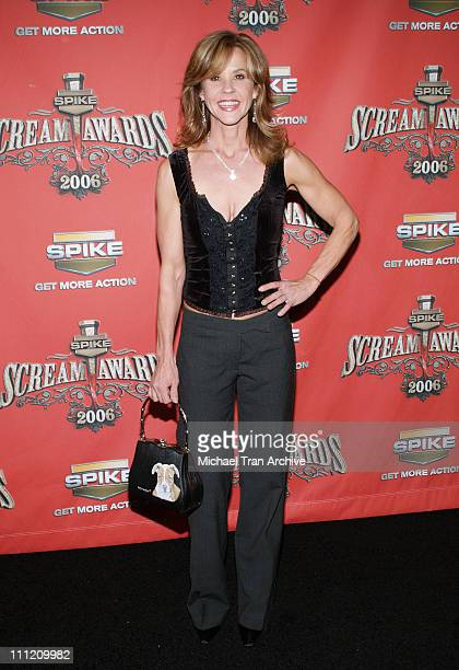 Linda Blair during Spike TV's Scream Awards 2006 Arrivals at Pantages Theater in Hollywood California United States