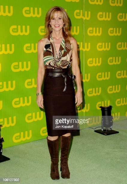 Linda Blair during The CW Launch Party Arrivals at WB Main Lot in Burbank California United States
