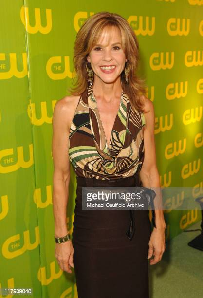 Linda Blair during The CW Launch Party Green Carpet at WB Main Lot in Burbank California United States