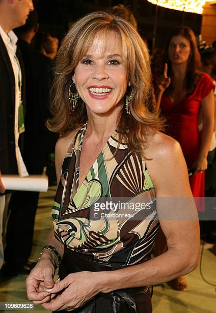 Linda Blair during The CW Launch Party Inside at WB Main Lot in Burbank California United States