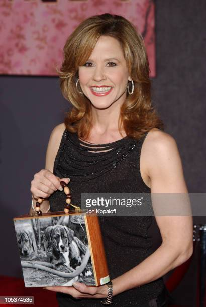 Linda Blair during The Ladykillers Los Angeles Premiere at The El Capitan Theaatre in Hollywood California United States