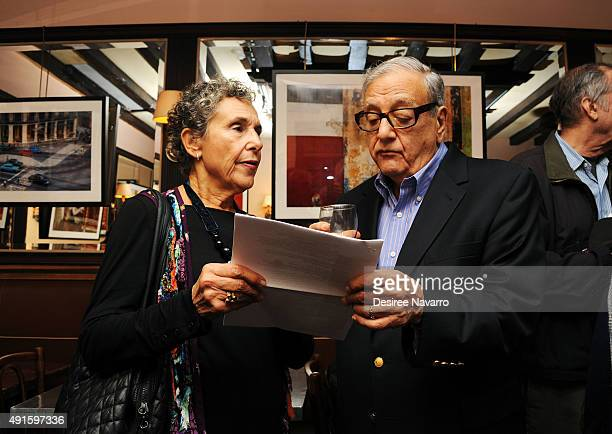 Linda Botton and Richard Botton attend 'Color Thru My Lens' Opening Night Reception at Swifty's Restaurant on October 6 2015 in New York City