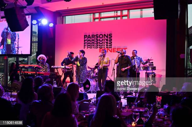Linda Briceno performs on stage at the 71st Annual Parsons Benefit honoring Pharrell, Everlane, StitchFix & The RealReal on May 20, 2019 in New York...