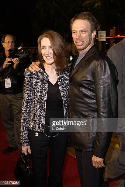 """Linda Bruckheimer and Jerry Bruckheimer, producer during """"Veronica Guerin"""" - Los Angeles Premiere - Red Carpet at The Bruin Theater in Westwood,..."""