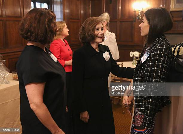Linda Burch PhD Professor Sherry Turkle and Heba Abedin attend Touchscreen Generation How Technology Affects Our Kids' Social/Emotional Learning And...