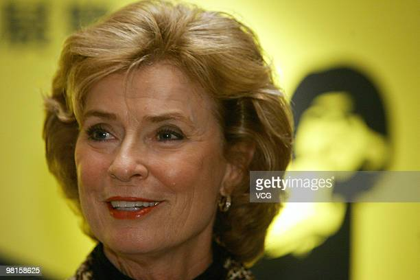 Linda Cadwell widow of the late Kung Fu star Bruce Lee attends opening ceremony for Bruce Lee's exhibition as part of the event at the Hong Kong...