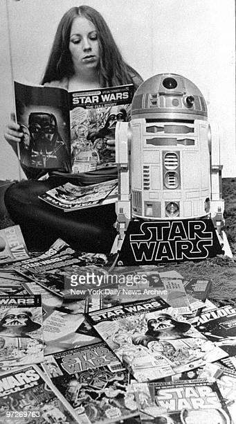 Linda Cappel with her collection of 'Star Wars' memorabilia