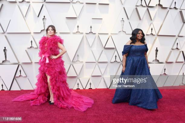 Linda Cardellini and Octavia Spencer attend the 91st Annual Academy Awards at Hollywood and Highland on February 24 2019 in Hollywood California