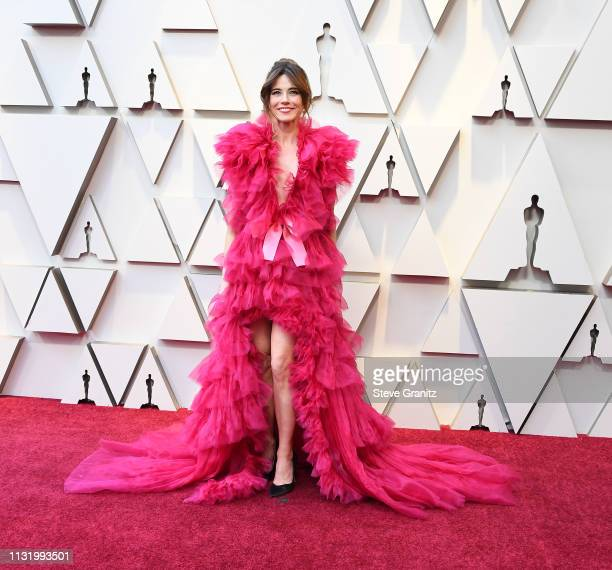 Linda Cardellini arrives at the 91st Annual Academy Awards at Hollywood and Highland on February 24 2019 in Hollywood California