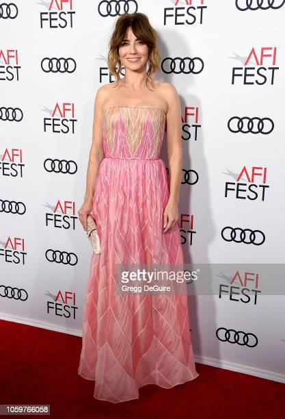 Linda Cardellini arrives at the AFI FEST 2018 Presented By Audi Green Book Gala Screening at TCL Chinese Theatre on November 9 2018 in Hollywood...
