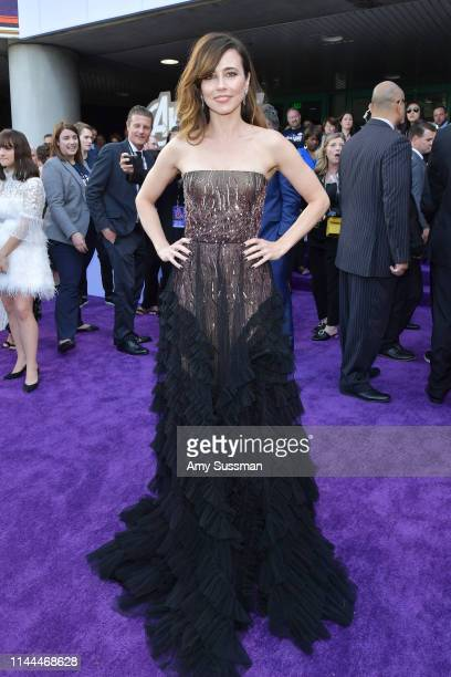 Linda Cardellini arrives for the World premiere of Marvel Studios' 'Avengers Endgame' at Los Angeles Convention Center on April 22 2019 in Los...