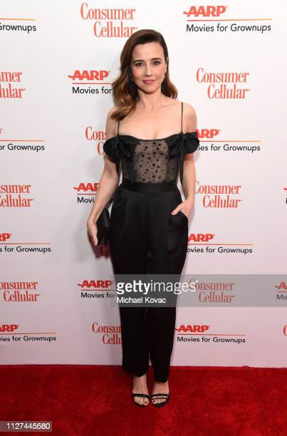 Linda Cardellini attends AARP The Magazine's 18th Annual Movies for Grownups Awards at the Beverly Wilshire Four Seasons Hotel on February 04 2019 in...