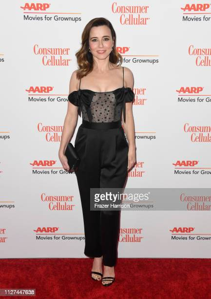 Linda Cardellini attends the 18th Annual AARP The Magazine's Movies For Grownups Awards at the Beverly Wilshire Four Seasons Hotel on February 04...