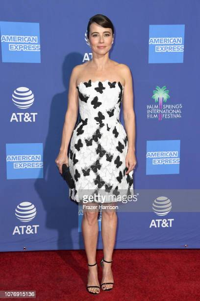 Linda Cardellini attends the 30th Annual Palm Springs International Film Festival Film Awards Gala at Palm Springs Convention Center on January 3...