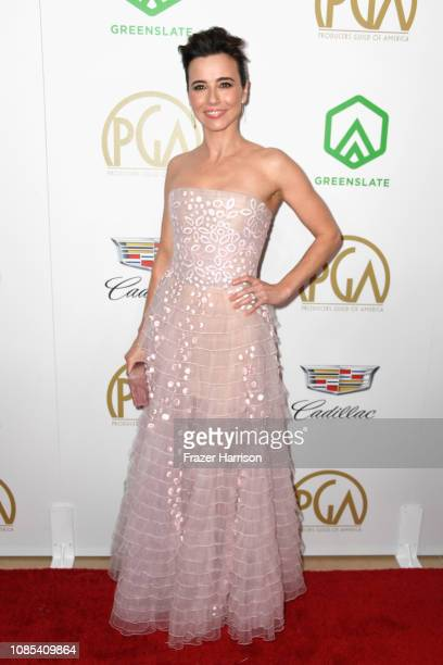 Linda Cardellini attends the 30th annual Producers Guild Awards at The Beverly Hilton Hotel on January 19 2019 in Beverly Hills California