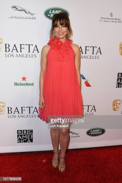 Linda Cardellini attends The BAFTA Los Angeles Tea Party at Four Seasons Hotel Los Angeles at Beverly Hills on January 5, 2019 in Los Angeles,...
