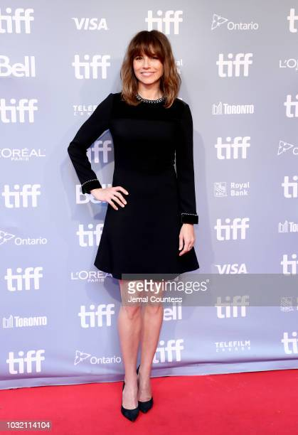Linda Cardellini attends the Green Book press conference during 2018 Toronto International Film Festival at TIFF Bell Lightbox on September 12 2018...