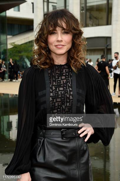 Linda Cardellini attends the Longchamp SS20 Runway Show on September 07, 2019 in New York City.