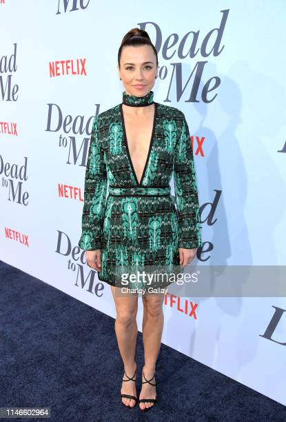 Linda Cardellini attends the premiere of Netflix's 'Dead to Me' at The Eli and Edythe Broad Stage on May 02, 2019 in Santa Monica, California.