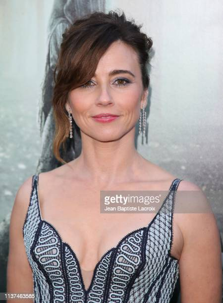 Linda Cardellini attends the premiere of Warner Bros' 'The Curse Of La Llorona' at the Egyptian Theatre on April 15 2019 in Hollywood California