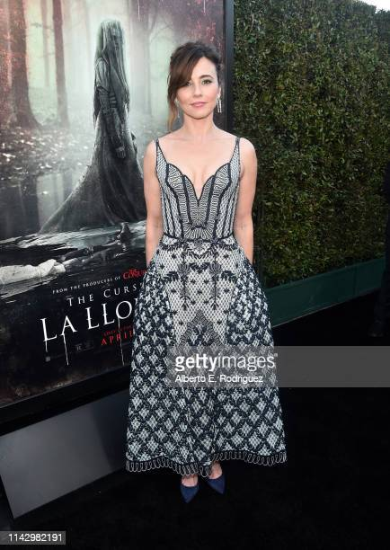 Linda Cardellini attends the premiere of Warner Bros' The Curse Of La Llorona at the Egyptian Theatre on April 15 2019 in Hollywood California