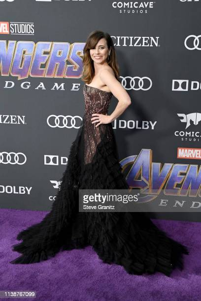 Linda Cardellini attends the world premiere of Walt Disney Studios Motion Pictures 'Avengers Endgame' at the Los Angeles Convention Center on April...