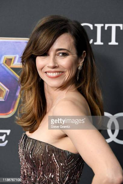 Linda Cardellini attends the world premiere of Walt Disney Studios Motion Pictures Avengers Endgame at the Los Angeles Convention Center on April 22...