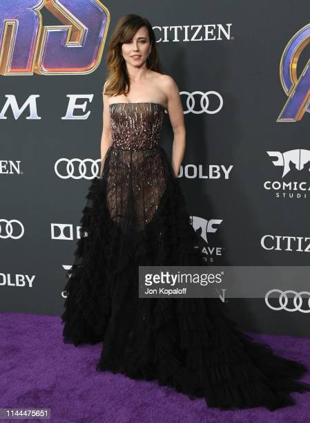 Linda Cardellini attends the World Premiere Of Walt Disney Studios Motion Pictures Avengers Endgame at Los Angeles Convention Center on April 22 2019...